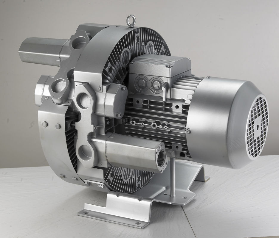 High Pressure Backward Goorui Side Channel Blower Pump For Cnc Router Machine